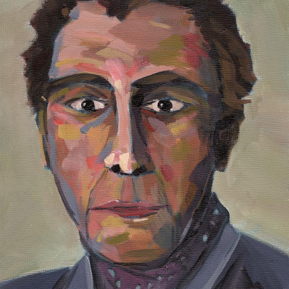 """""""0426: Albert"""" original fine art by Brian Miller"""