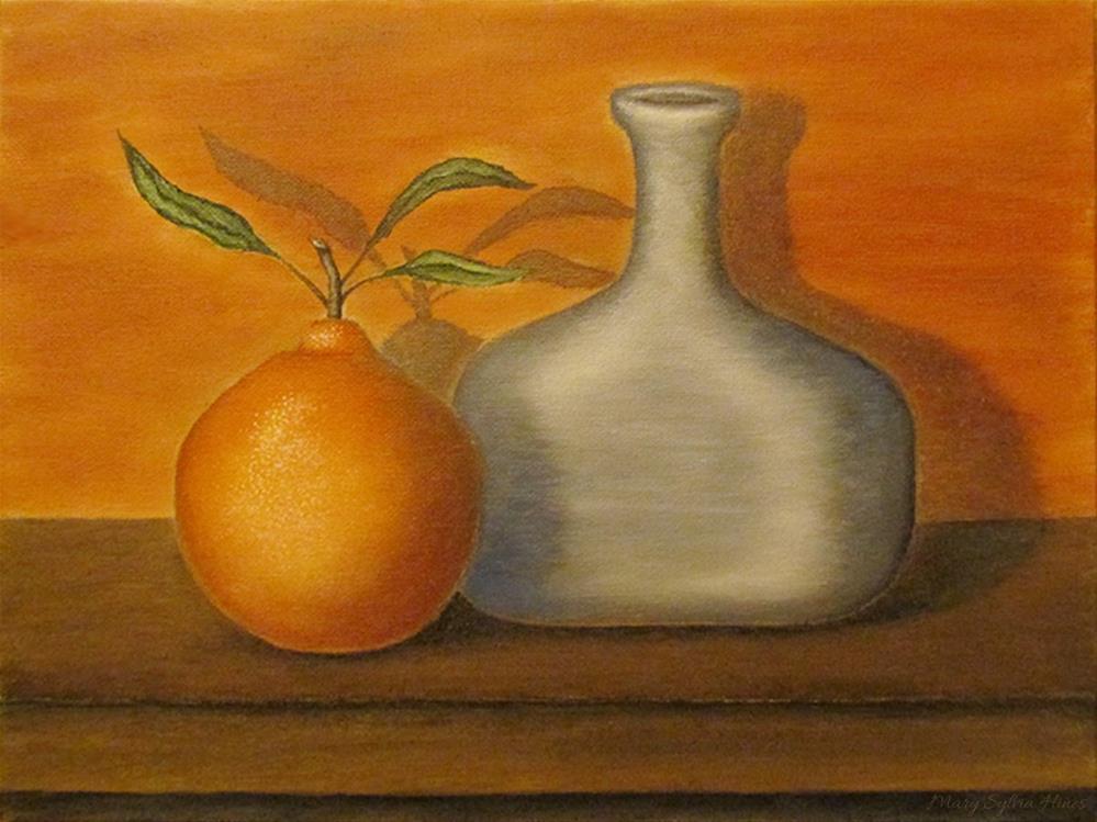 """""""Still Life01"""" original fine art by Mary Sylvia Hines"""