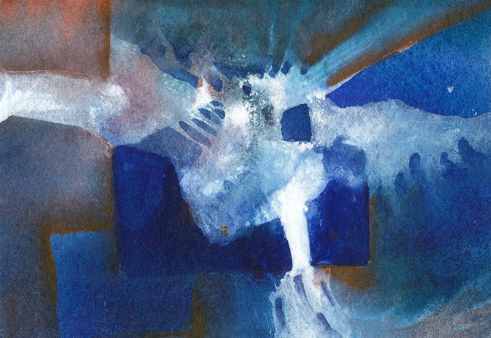 """Night Owl"" original fine art by Mark Allison"