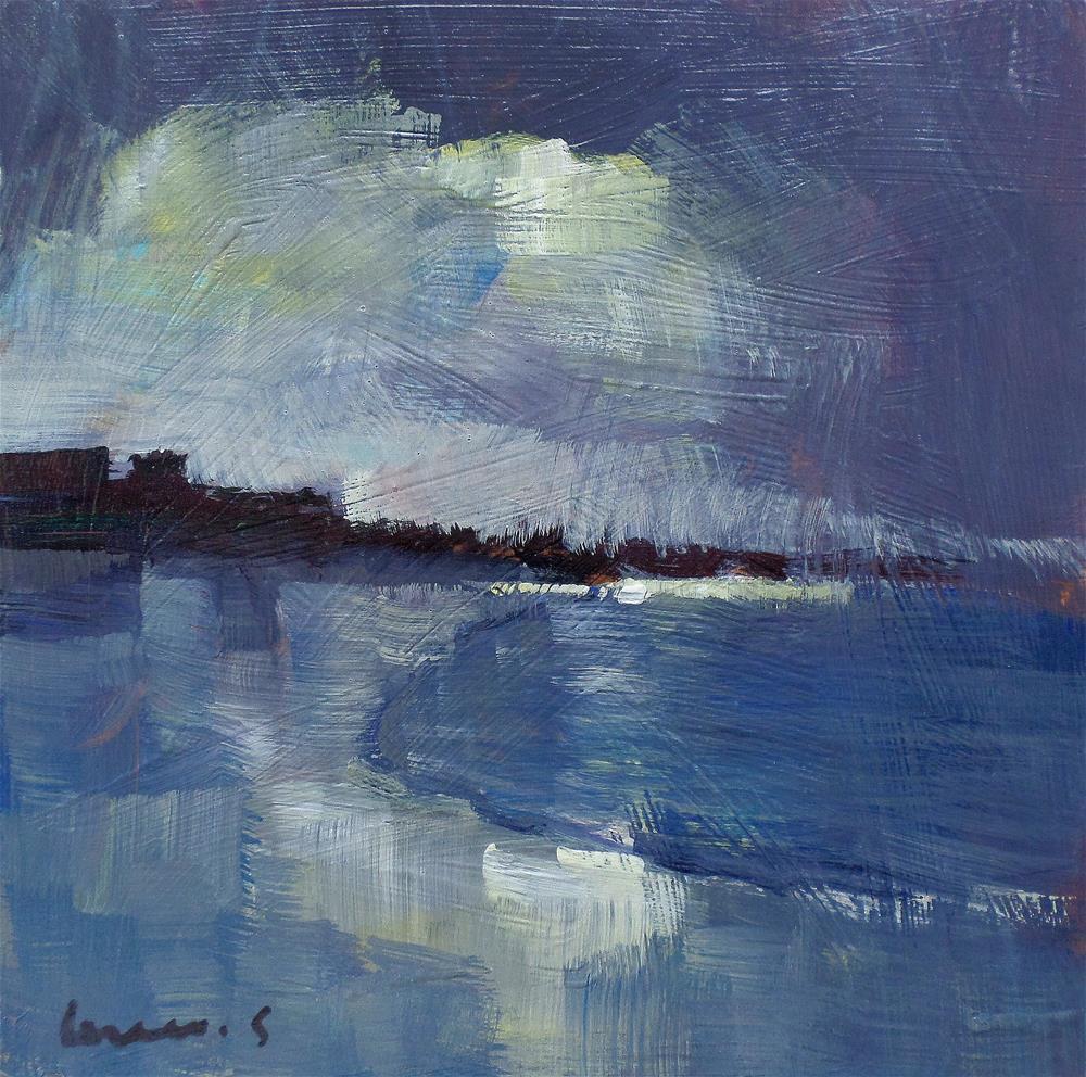 """light on the beach"" original fine art by salvatore greco"
