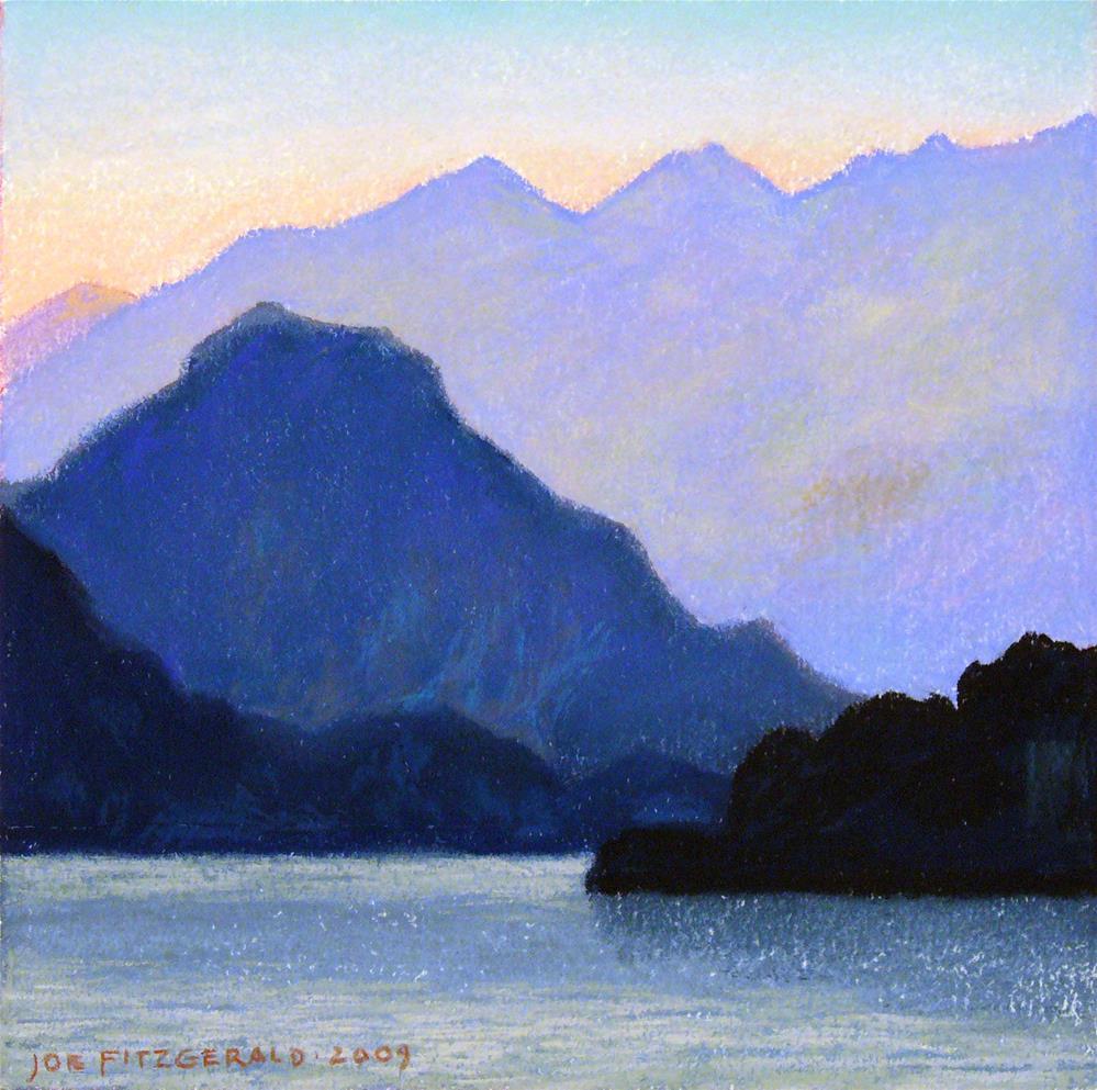 """""""Lake Maggiori I"""" original fine art by Joe Fitzgerald"""