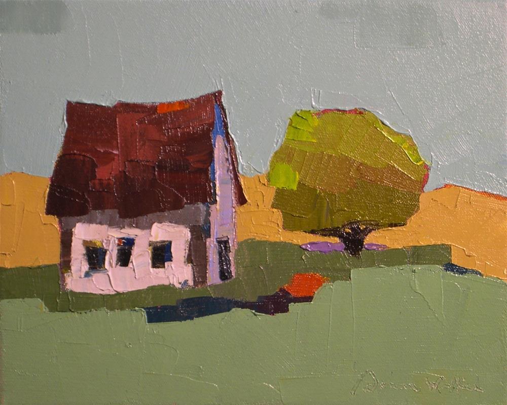 """Our Place II"" original fine art by Donna Walker"