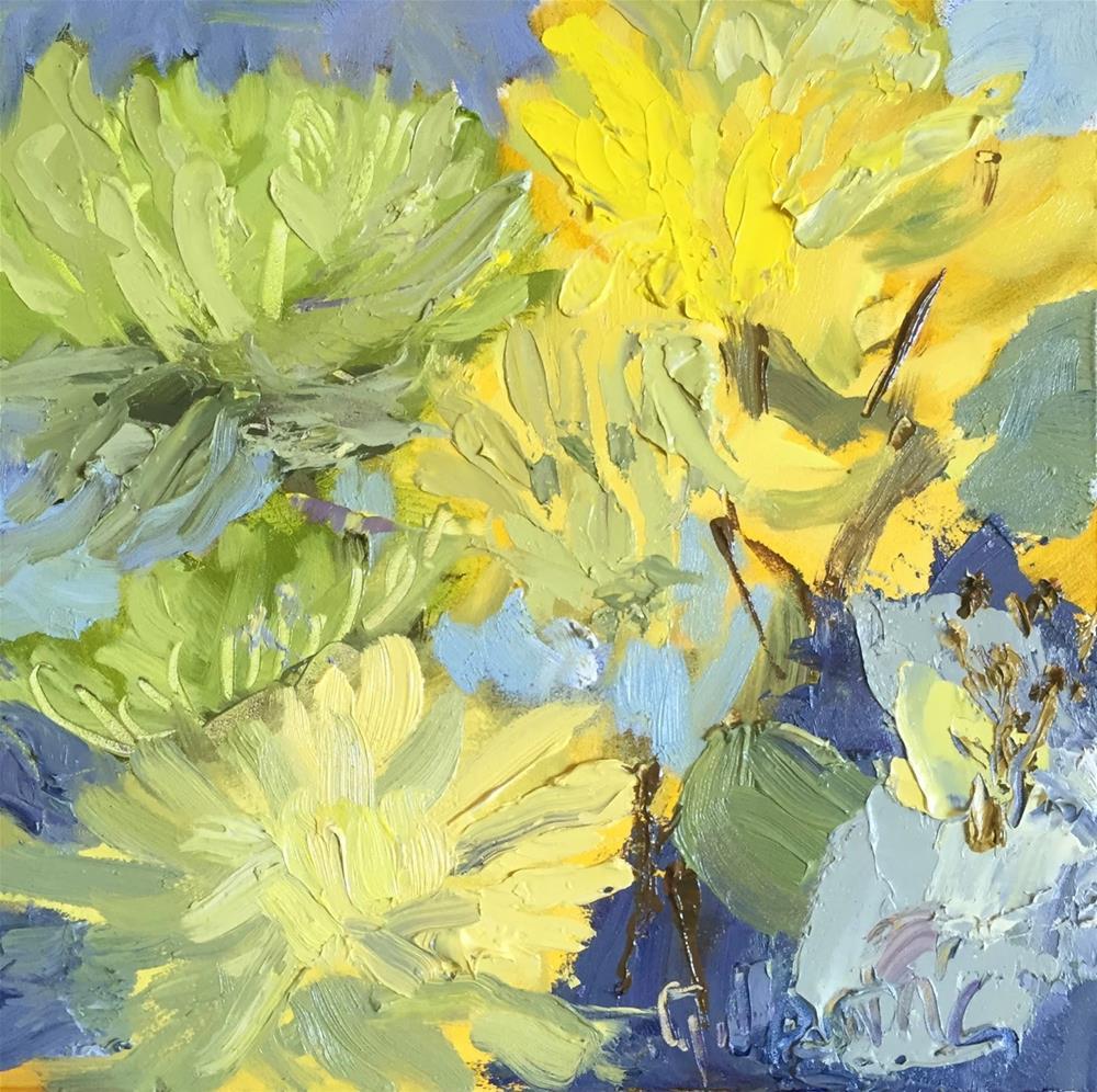 """#185 Summer Bunch"" original fine art by Libby Gilpatric"