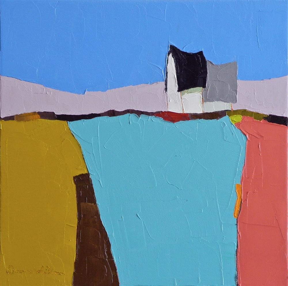 """Color Field"" original fine art by Donna Walker"