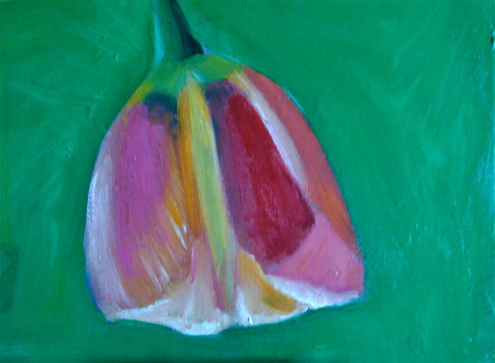 """For the love of tulips"" original fine art by Gerri Obrecht"