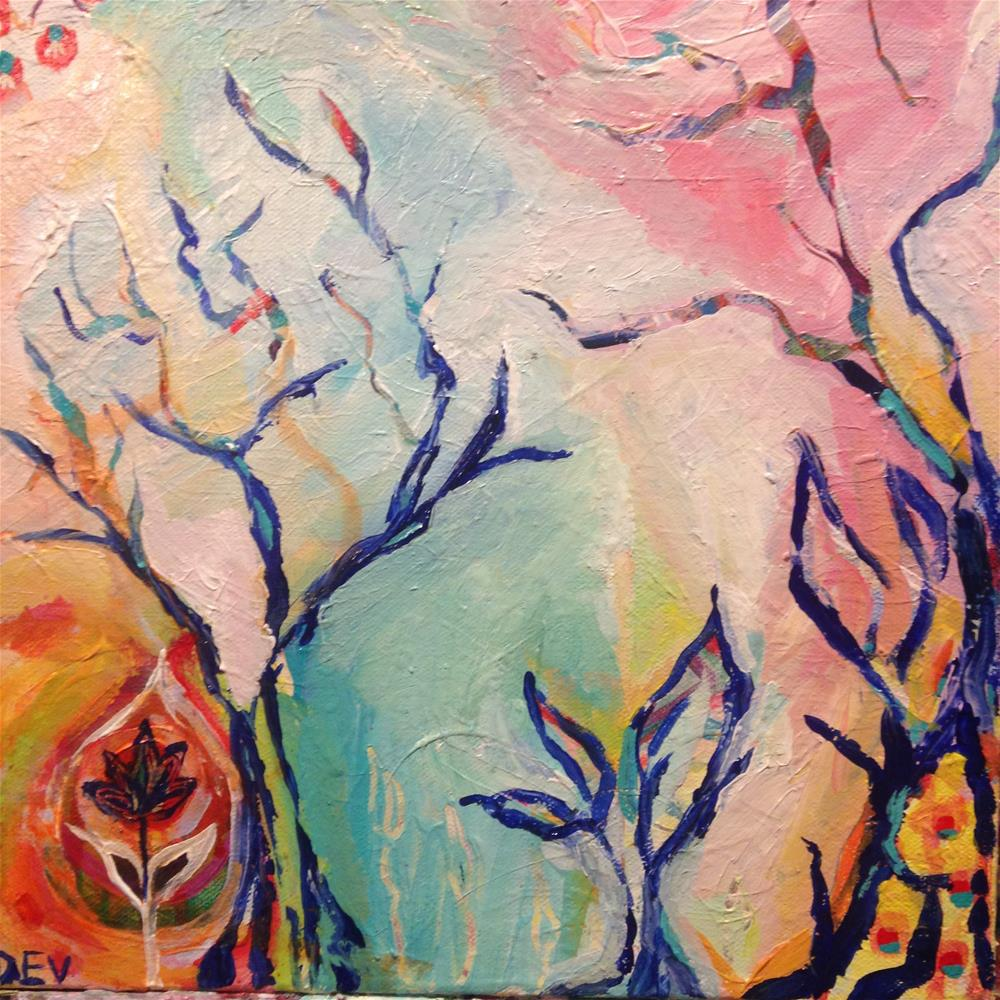 """""""Exclusion and Future"""" original fine art by Nicole Saunders"""