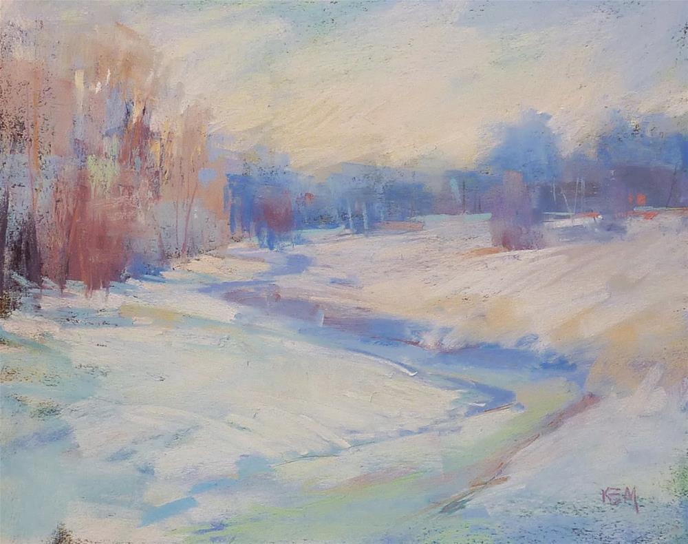 """4 Easy Steps to Choosing an Art Blog Name"" original fine art by Karen Margulis"