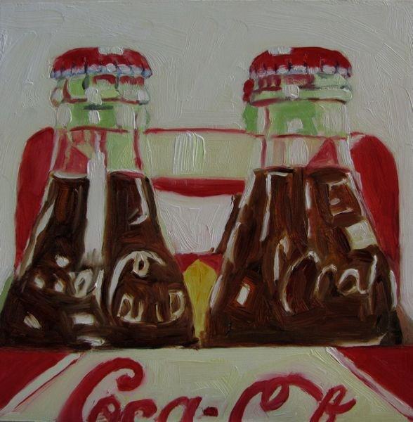 """Coke Addict"" original fine art by Mb Warner"