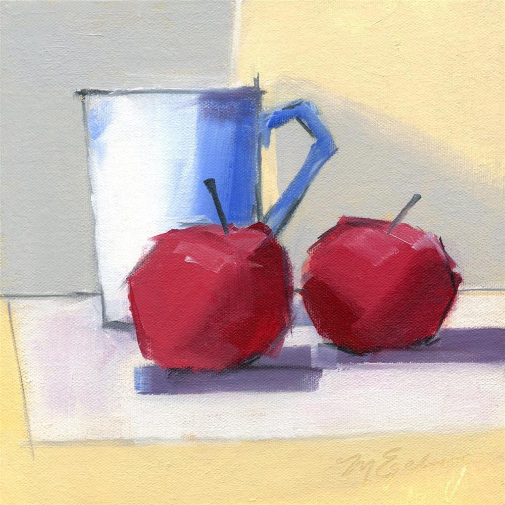 """Sitting Pretty"" original fine art by Mitch Egeberg"