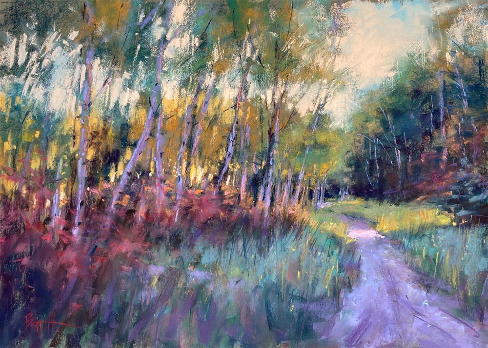 """Forest Path"" original fine art by Marla Baggetta"