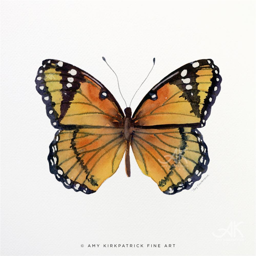 """""""#76 Viceroy Butterfly #0386"""" original fine art by Amy Kirkpatrick"""