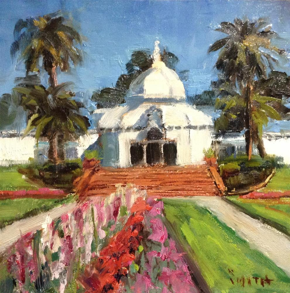 """Conservatory of Flowers"" original fine art by Barbie Smith"