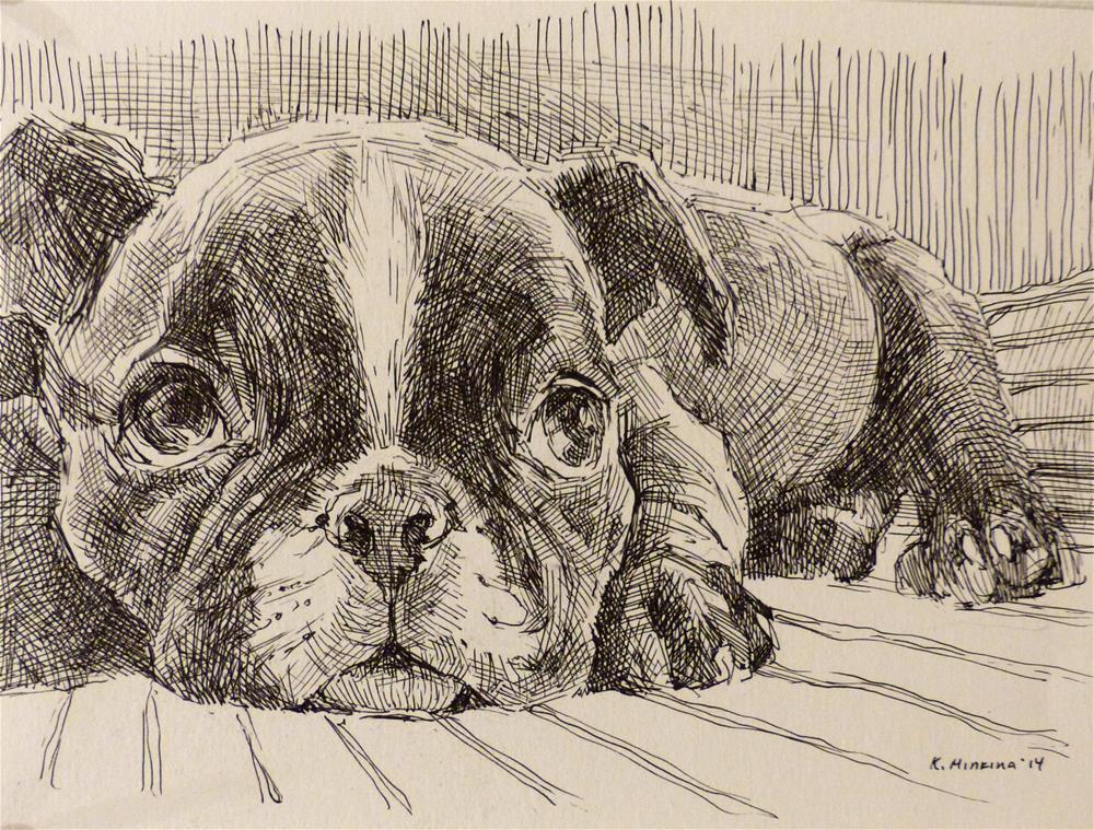 """adopt44"" original fine art by Katya Minkina"