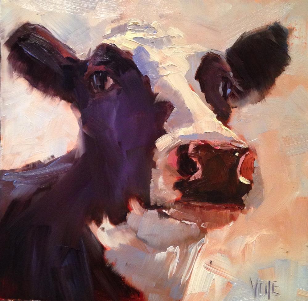"""""""#200 Little Miss Big Ears"""" original fine art by Patty Voje"""