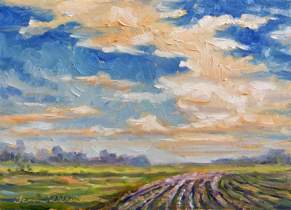 """""""Beyond the Clouds"""" original fine art by Tammie Dickerson"""