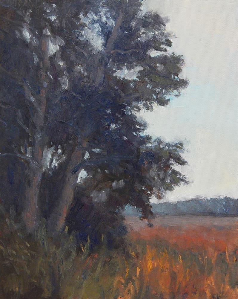"""""""Standing Tall"""" original fine art by Lisa Kyle"""