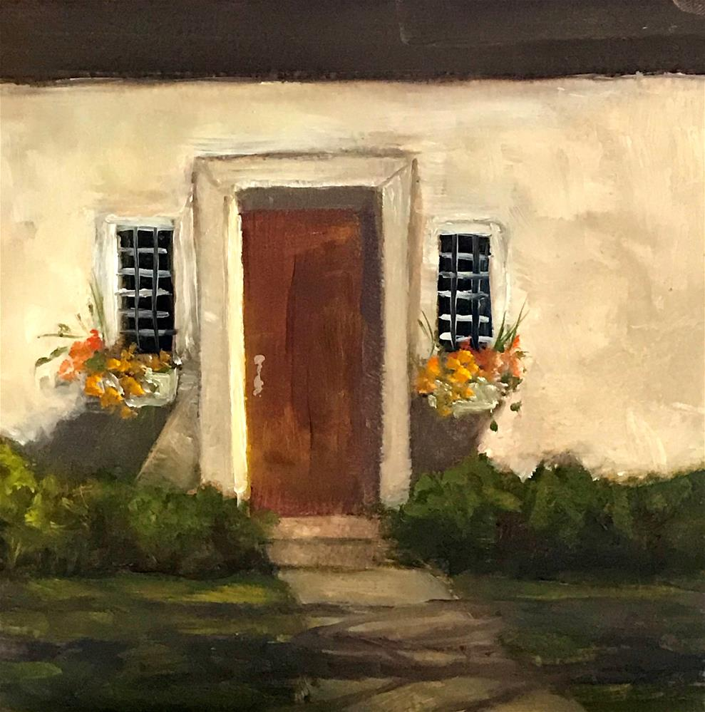 """pretty front door"" original fine art by Betty Argiros"