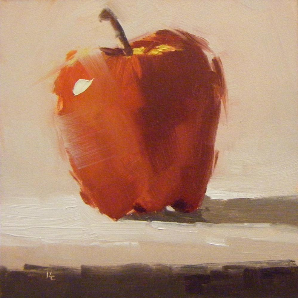 """APPLE DAY"" original fine art by Helen Cooper"
