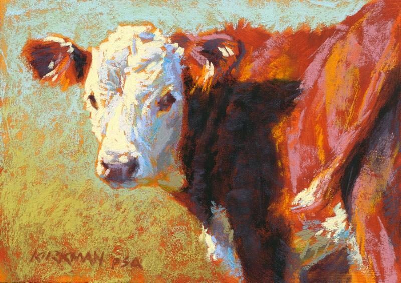 """Mambo - day 1"" original fine art by Rita Kirkman"