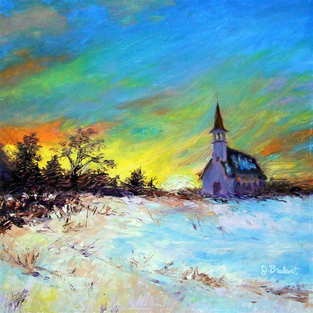 """""""Prodigal Sun"""" original fine art by Jill Brabant"""