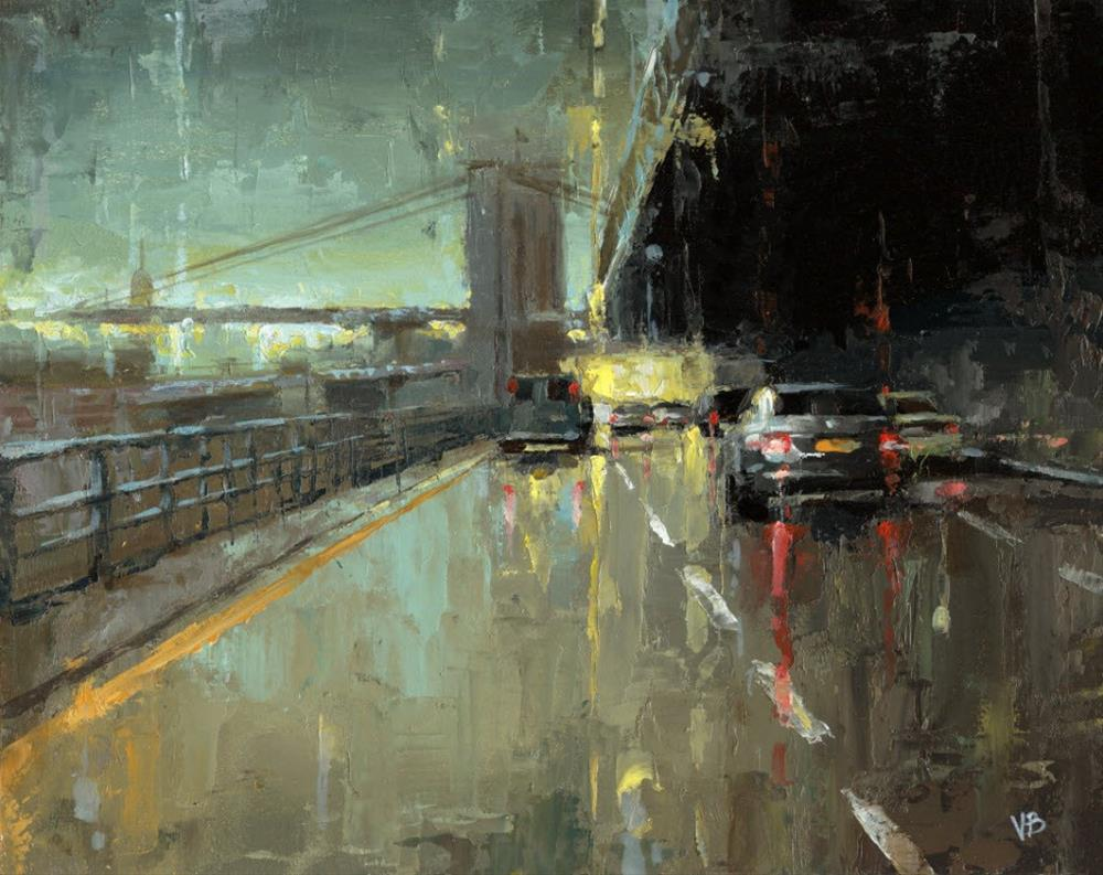 """BQE-II"" original fine art by Victor Bauer"