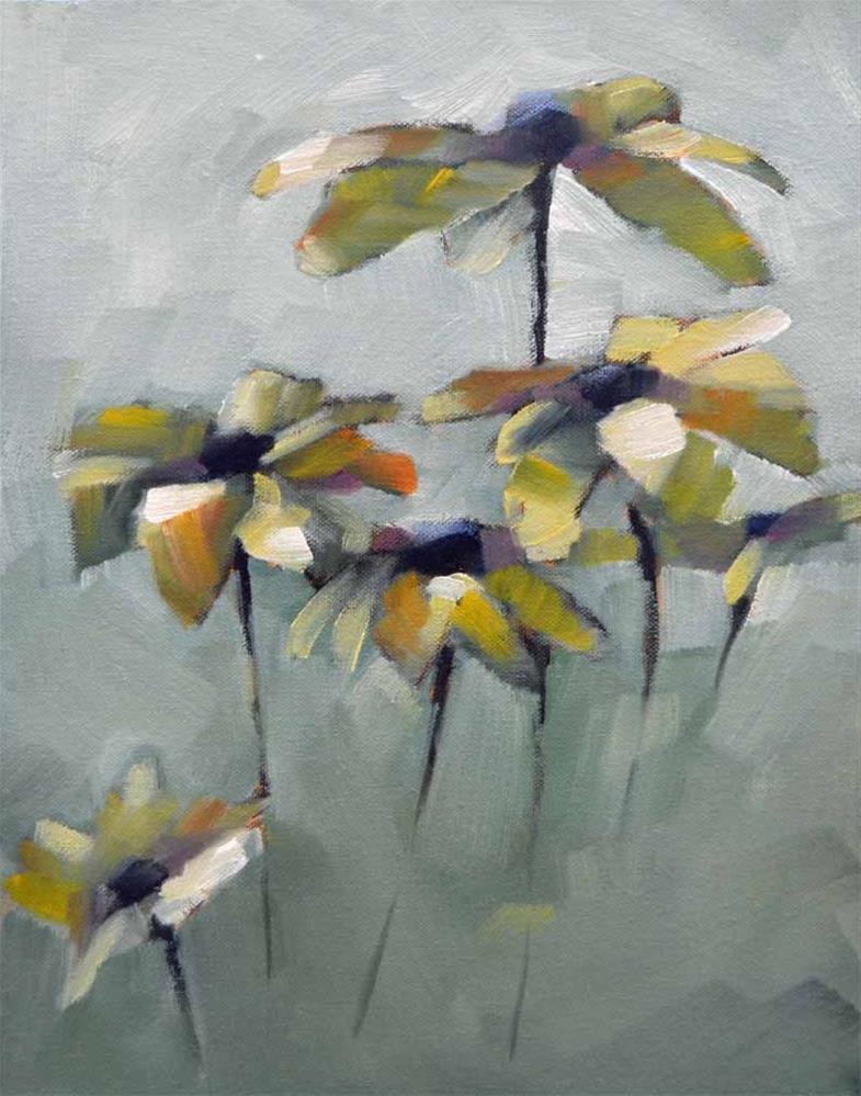 """""""Susans, Bunch 1"""" original fine art by Cheryl Wilson"""