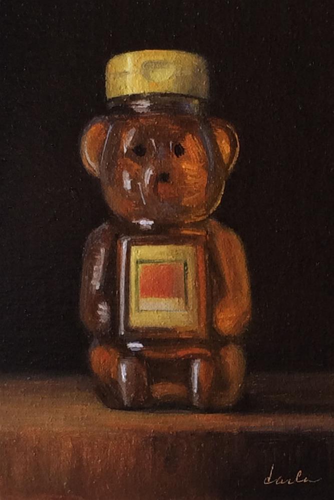 """Honey"" original fine art by Darla McDowell"