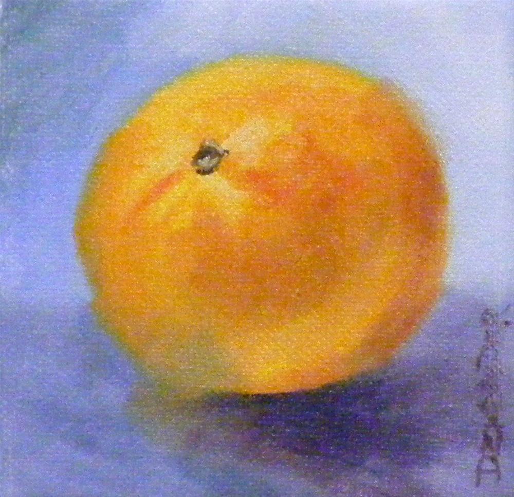"""Orange"" original fine art by Diana Delander"