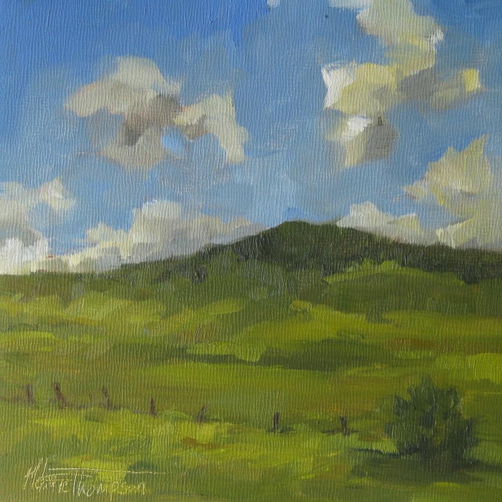 """""""Cowboy Trail I"""" original fine art by Melanie Thompson"""