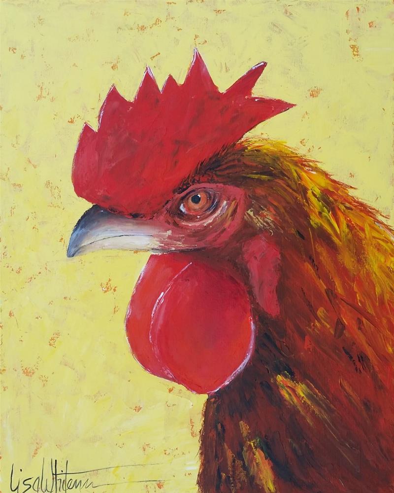 """35 - Barbara"" original fine art by Lisa Rogers"