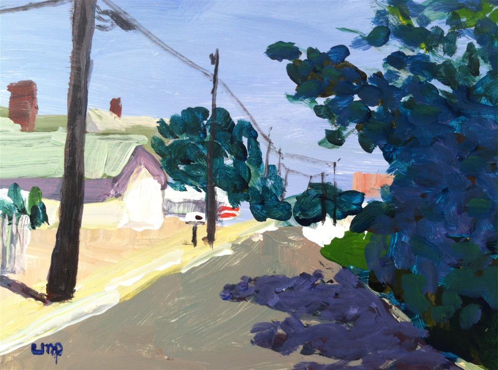 """Landscape"" original fine art by Christine Parker"