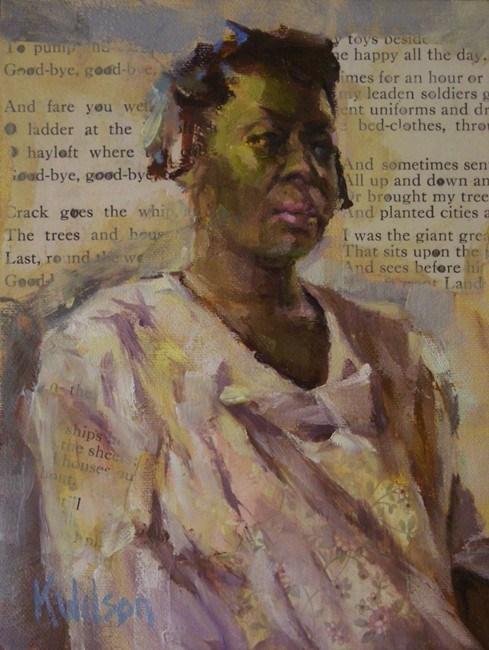"""""""White Shirt"""" original fine art by Katie Wilson"""