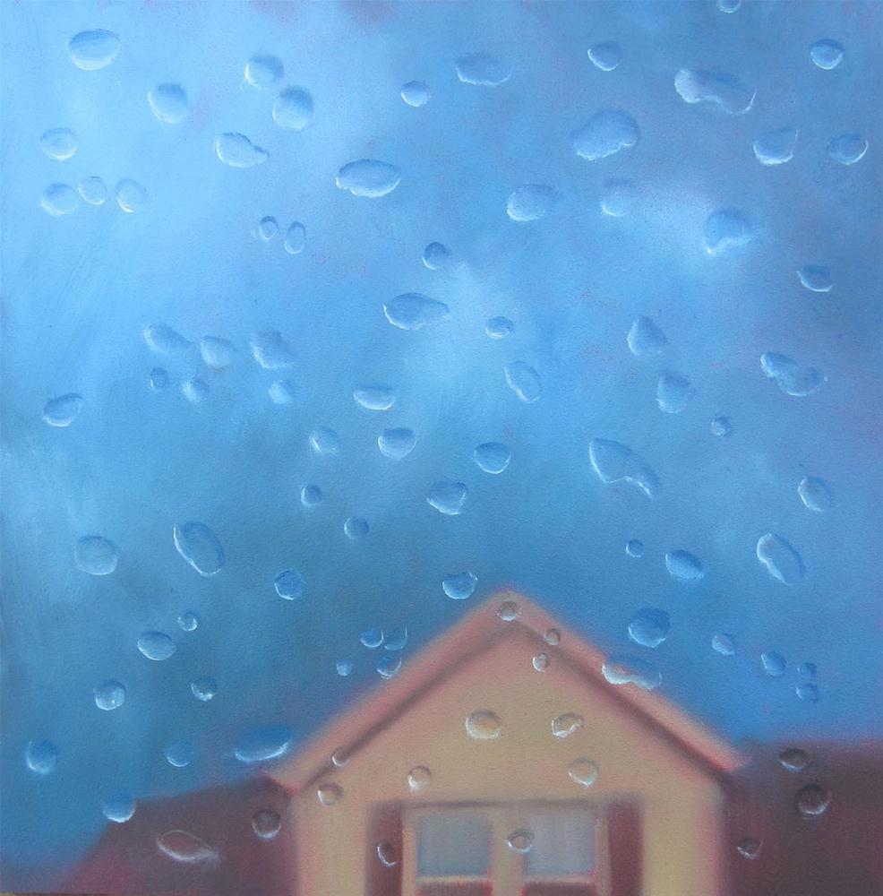 """Riders on the Storm"" original fine art by Linda McCoy"