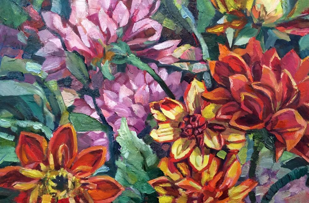 """""""2016/01  Summer Jewels"""" original fine art by Nicoletta Baumeister"""