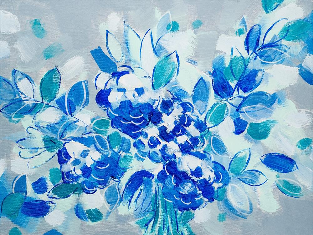 """""""Wedding Blues"""" original fine art by Franziska Schwade"""