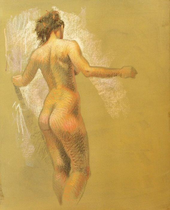 """Figure"" original fine art by Peter Orrock"