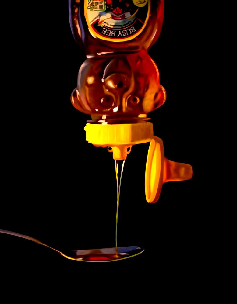 """Spoonful of Honey"" original fine art by Lauren Pretorius"
