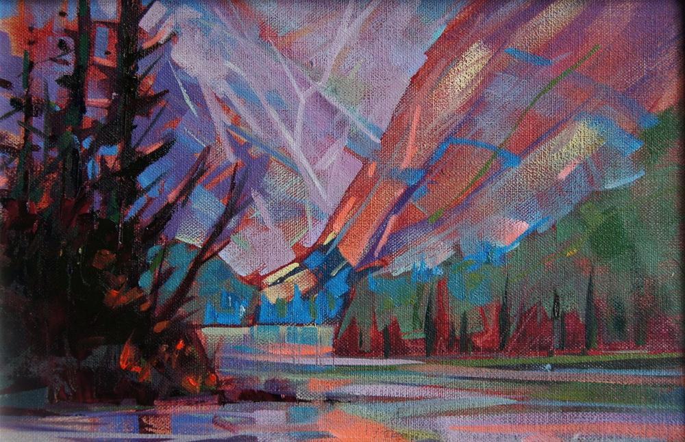 """""""Mountain Light"""" original fine art by Brian Buckrell"""
