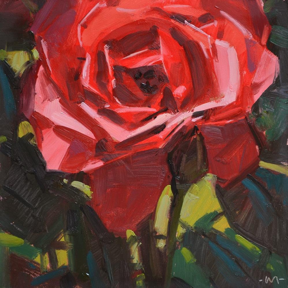 """Glow in the Dark"" original fine art by Carol Marine"