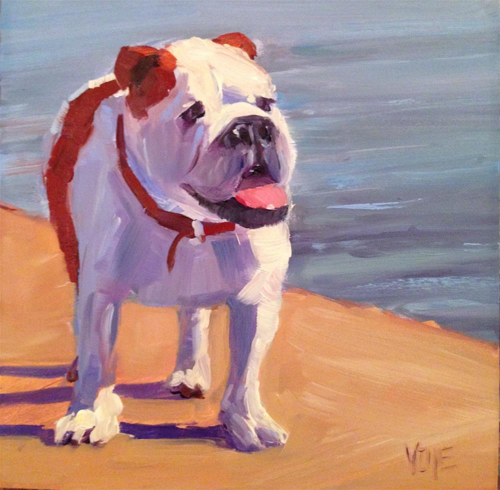 """#80 Dogcation 2015"" original fine art by Patty Voje"
