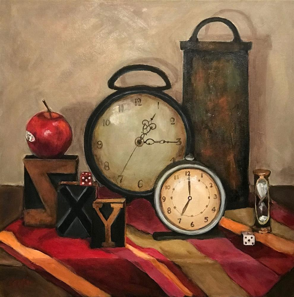 """""""942 Time and Time Again"""" original fine art by Diane Campion"""