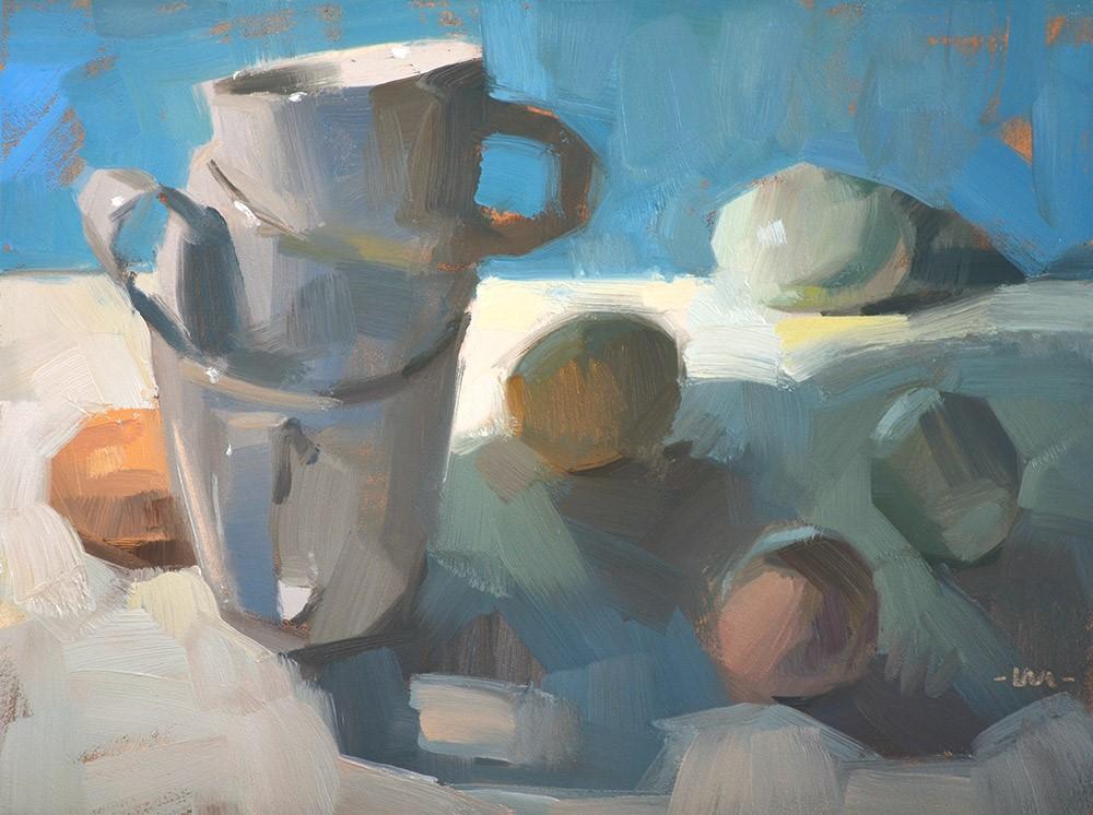 """Hiding in Plain Sight"" original fine art by Carol Marine"