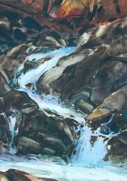 """""""Autumn Sonata"""" original fine art by Stephen Ravenscraft"""
