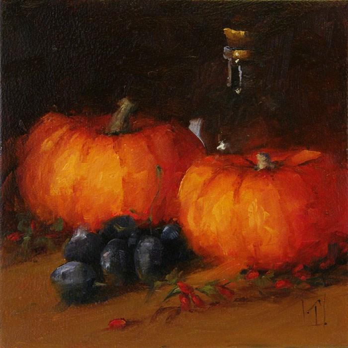"""Autumn Colors"" original fine art by Lori Twiggs"
