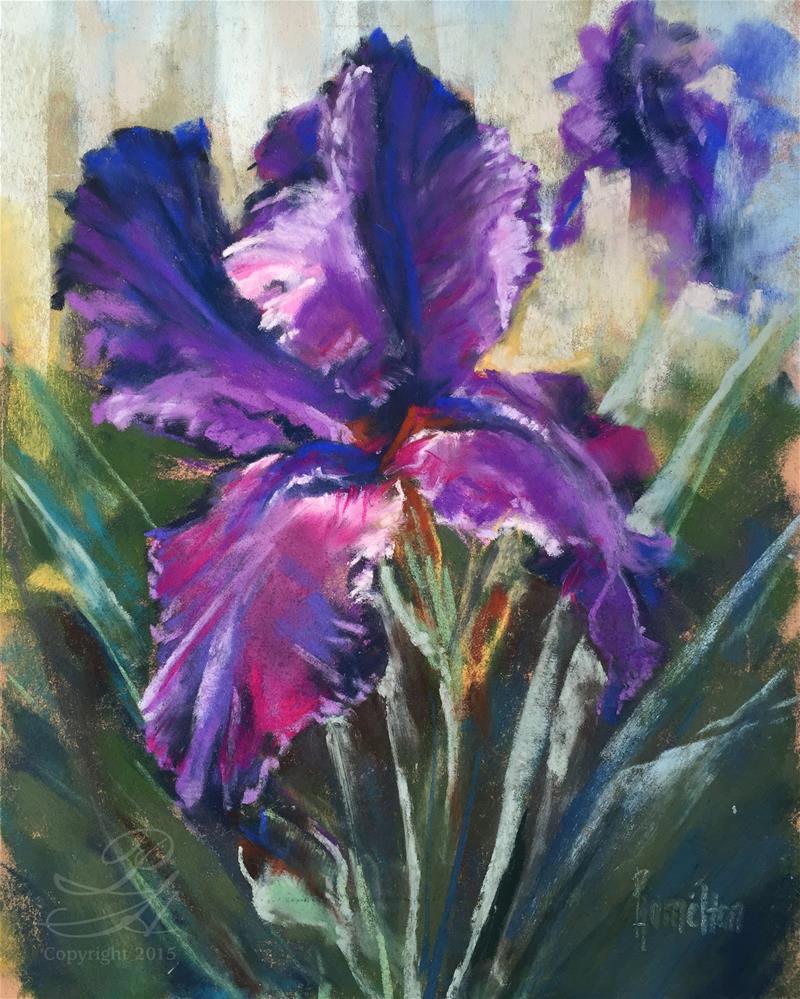"""Symphony in Purple"" original fine art by Pamela Hamilton"