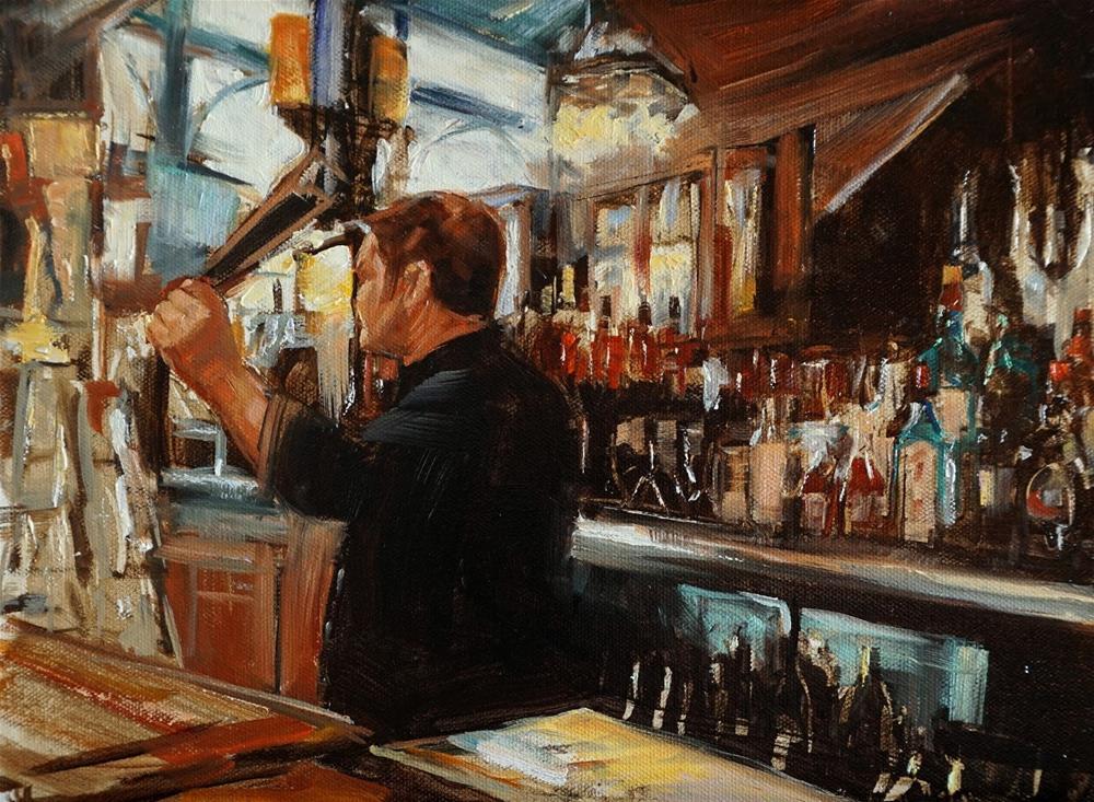"""Happy Hour"" original fine art by Jonelle Summerfield"