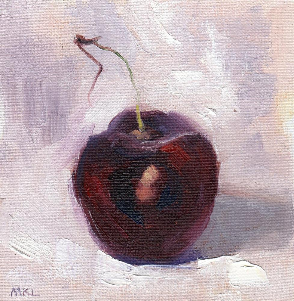 """Cherry Core"" original fine art by Marlene Lee"