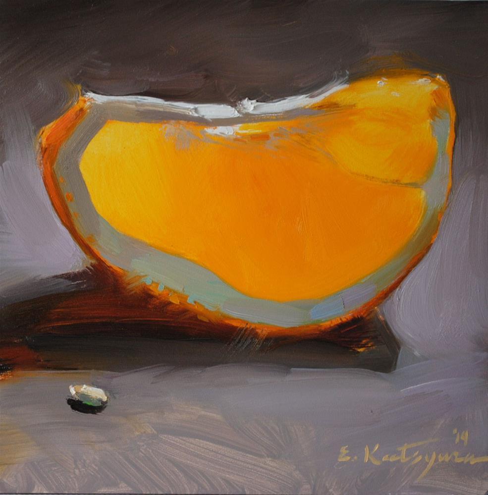 """The Tastiest Fruit"" original fine art by Elena Katsyura"