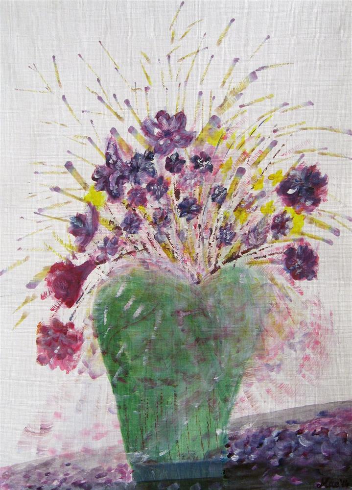 """Shaken"" original fine art by Alina Frent"