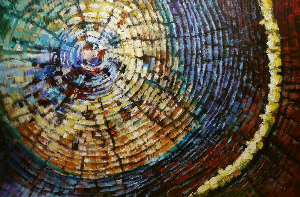 """forty years"" original fine art by Beata Musial-Tomaszewska"